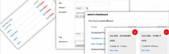 WordPress插件:WP User Frontend Pro专业版/用户前端中心汉化版[更新V2.2.4]